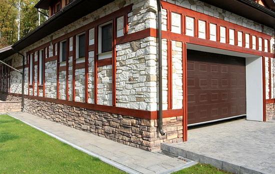 Фасадная плитка под натуральные материалы - кирпич и камень 4