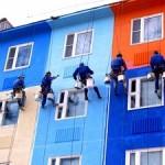 Фасадные краски — какие бывают и как применяются