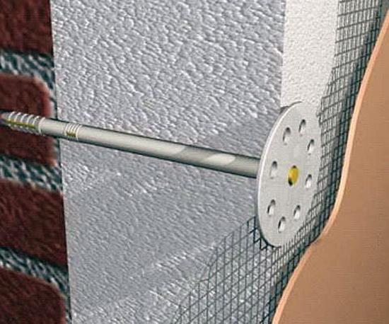 Правильный монтаж пенополистирола на внешние стены 4