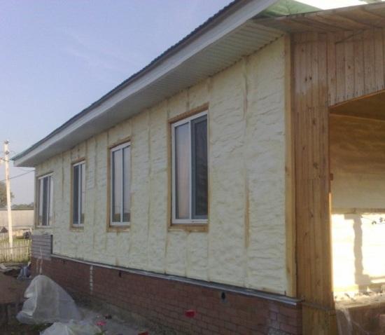 Нестандартное утепление деревянного дома 4