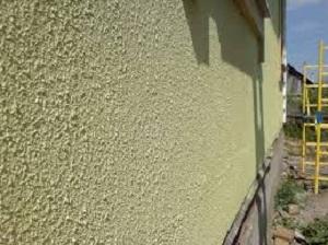 Расход материалов на окраску и штукатурку фасада