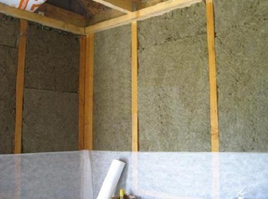 Технология утепления каркасных стен своими руками 3