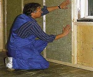 Способы утепления деревянных стен изнутри пенопластом 1