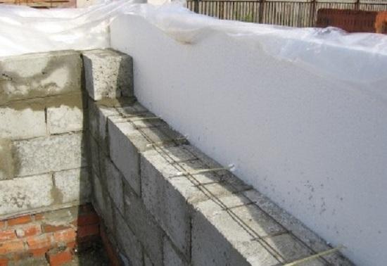 Утепление дома из керамзитобетонных блоков снаружи 5