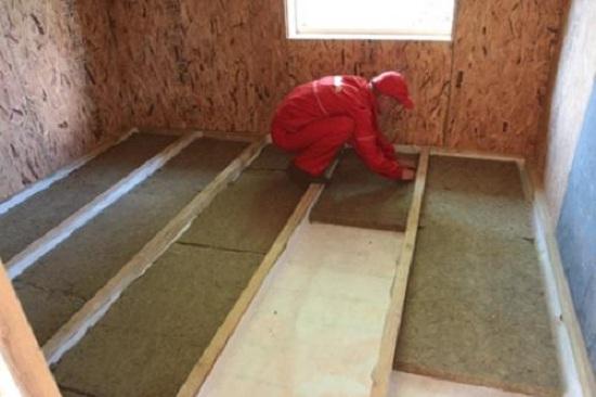 Как утеплять каркасный дом минеральной ватой 4