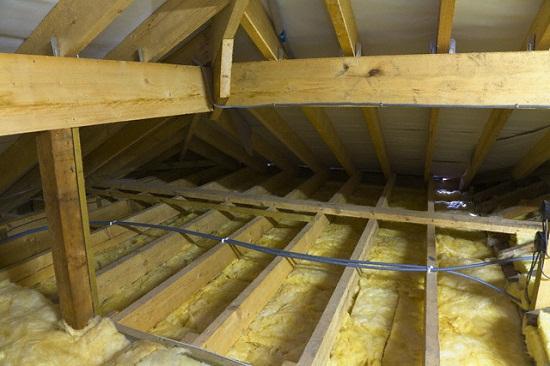 Как утеплить крышу, мансарду, чердак, фронтон в деревянном доме 2