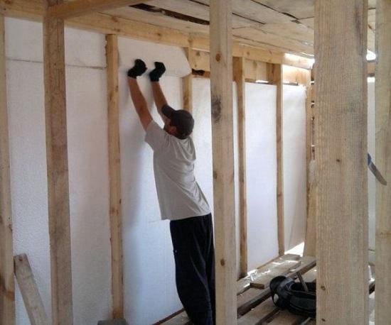 Утепление веранды деревянного дома изнутри 5
