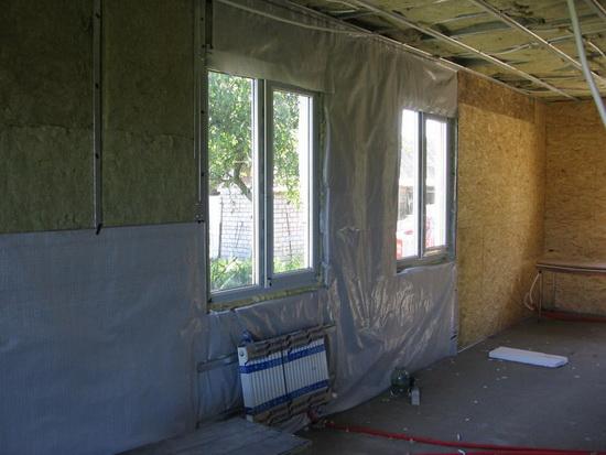Все виды внутреннего утепления в деревянном доме 5