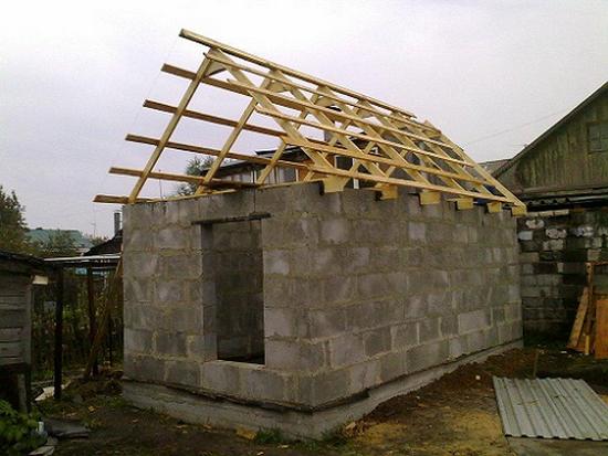 Видео строительство дома из блоков своими руками видео