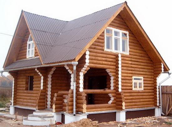 Калькулятор строительства дома из бруса - считаем брус на дом 3