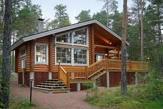 Дома из финского клееного бруса - плюсы и минусы материала 3