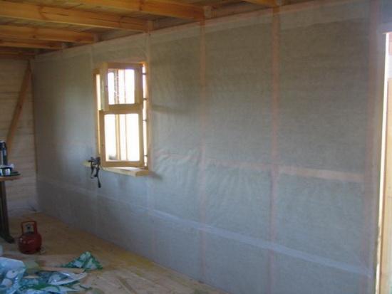 Пароизоляция - какой стороной укладывать в каркасной стене 4