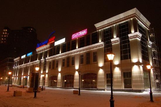 Прожекторы для наружного освещения - светодиодные варианты подсветки фасада 2