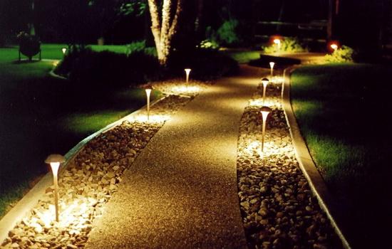 Прожекторы для наружного освещения - светодиодные варианты подсветки фасада 5