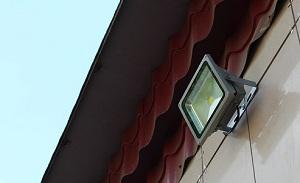 Прожекторы для наружного освещения - светодиодные варианты подсветки фасада 1