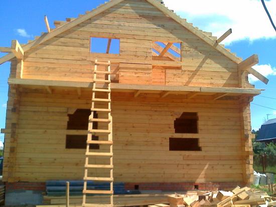 Расчет бруса на дом - калькулятор строительства небольшого брусового дома 2
