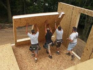 Стандартные размеры СИП панелей для частного строительства 1