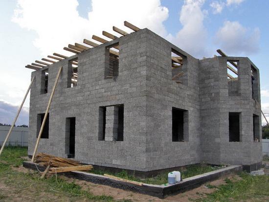Щепа для арболита своими руками - строим экономно арболитовый дом 2