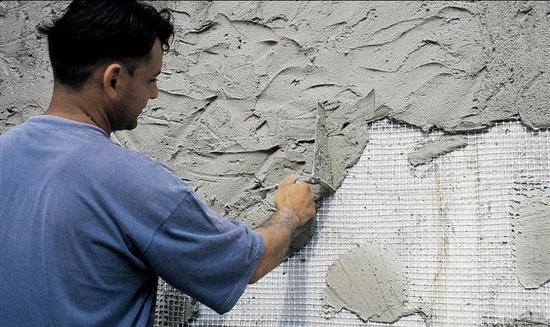 Оштукатуривание стен из газобетона - фасадные отделочные работы 5