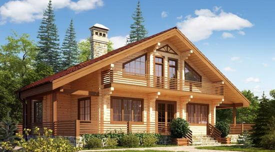 Реальная стоимость дома из клееного бруса - обсчитываем материал на дом 2
