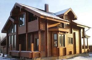 Реальная стоимость дома из клееного бруса - обсчитываем материал на дом 1