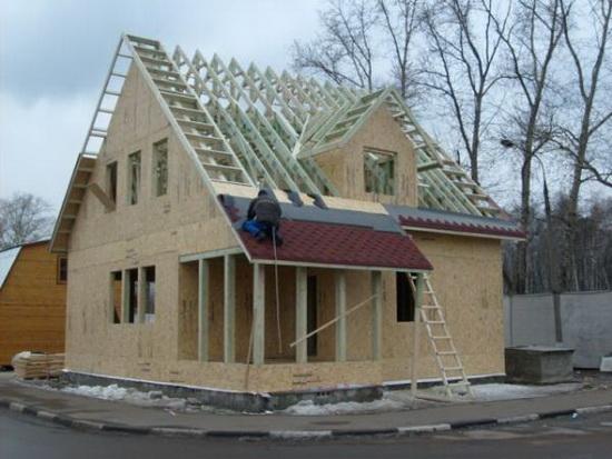 Каркасная пристройка к деревянному дому - утепление веранды при деревянном доме 2