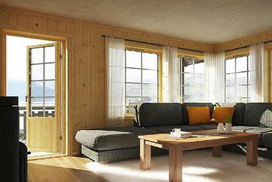 Каркасная пристройка к деревянному дому - утепление веранды при деревянном доме 5