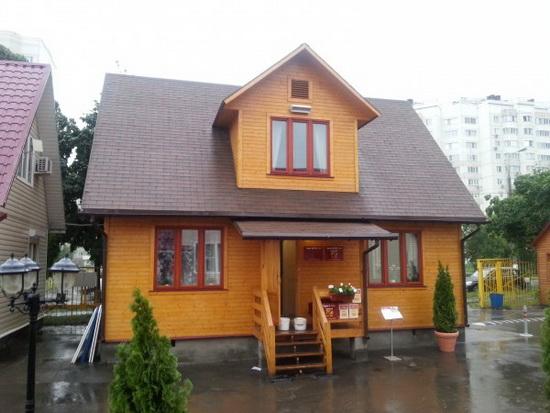 Внешняя отделка каркасного дома – фотографии фасадов 10