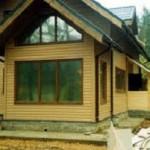 Внешняя отделка каркасного дома – фотографии фасадов