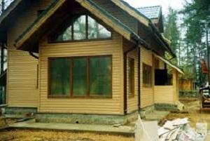 Внешняя отделка каркасного дома – фотографии фасадов 1
