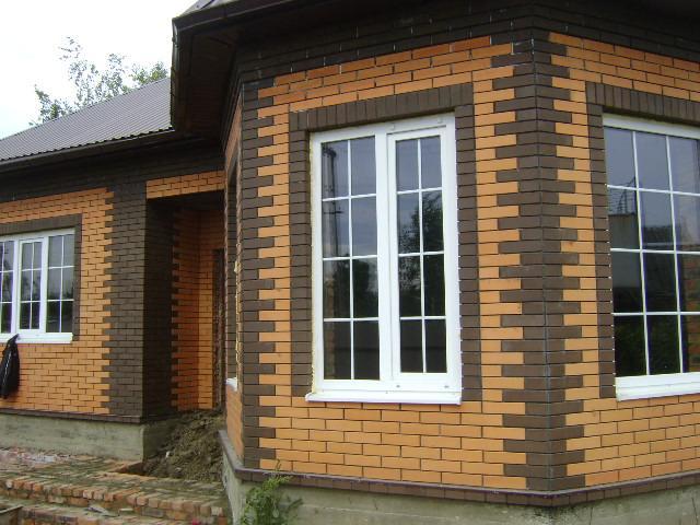 фасад дома фото частных домов из кирпича 3