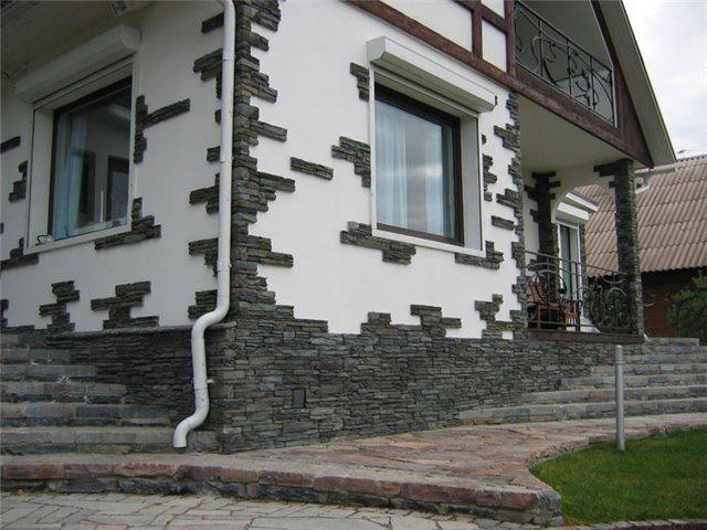 Фасад до и после реставрации