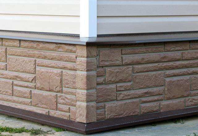 отделка фасада дома панелями под камень фото 7